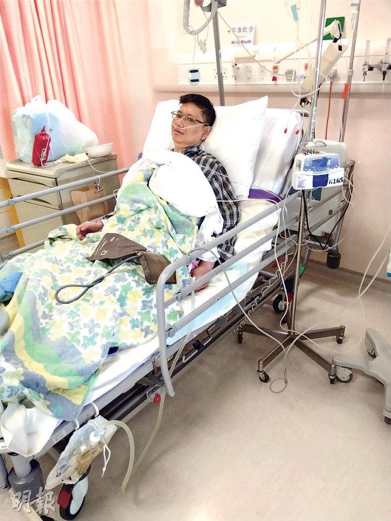 原急需換肝的九巴職員江振超(圖)病情持續惡化,延至周日(25日)晚上不治。(資料圖片)