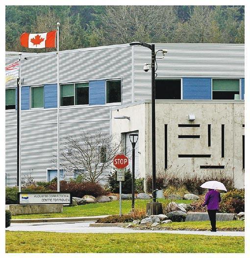 華為CFO孟晚舟被關押在加拿大卑詩省的女子懲教中心。(路透社)