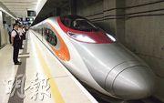 港鐵車務總監劉天成稱,高鐵香港段班次「有增無減」,並對明年農曆新年客量高峰期嚴陣以待。(資料圖片)