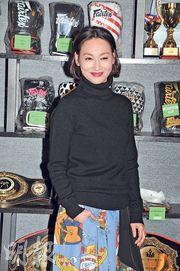 繼《原諒他77次》後,惠英紅於續集《感動她77次》中再次扮演蔡卓妍媽媽。(攝影:孫華中)