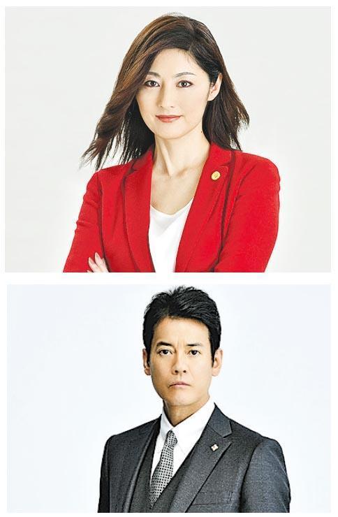 常盤貴子(上)與唐澤壽明(下)事隔10年再度合作《法妻》,絕對令人期待。