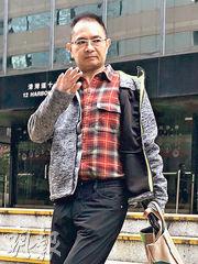 涉案物業的真正業主關恩亮昨作供後仍留在庭內旁聽,直到財務公司職員作供完畢始離開。 (何進康攝)
