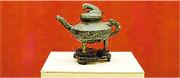 流失海外百餘年的圓明園青銅「虎鎣」(圖)重返中國,國家文物局劃撥國家博物館「虎鎣」入藏儀式昨日舉行。(網上圖片)