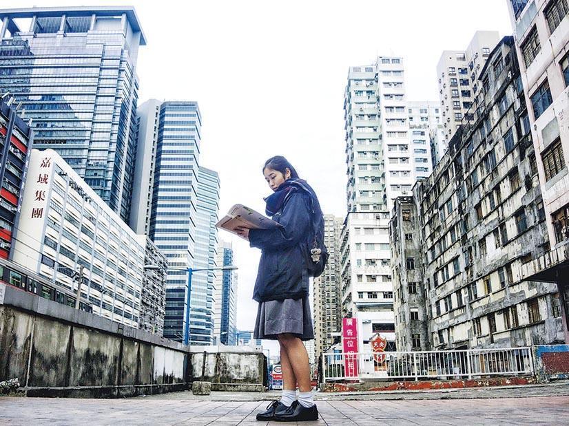 蔡婉彤:每天過的日子都一樣,上學、放學、溫書、回家、再上學。