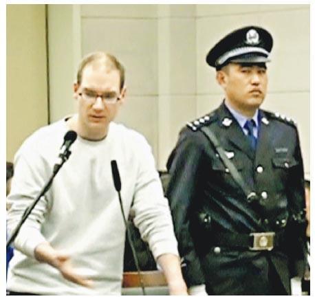 加拿大要求輕判毒販謝倫伯格(左)。(路透社)