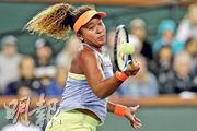 有海地血統的日本網球新星大坂直美膚色較黑,但日清廣告中的她卻變得較白晳,惹起「漂白」爭議。(資料圖片)