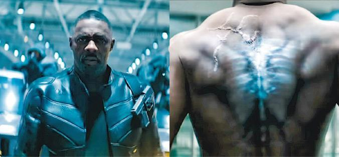 艾迪斯艾巴在《狂野時速:雙雄聯盟》扮演奸角,是經過生化基因改造的無政府主義者。