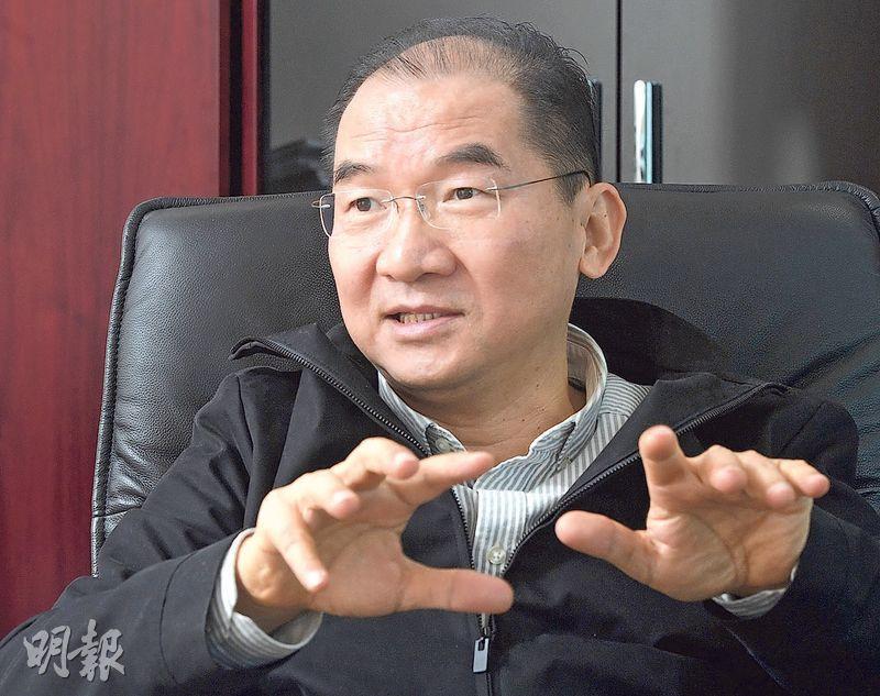 Prenetics董事兼共同創辦人楊夢甦形容,Prenetics在短短幾年間成為本港規模最大的基因檢測公司,業務遍及香港以至東南亞,目前有超過150名員工。(劉焌陶攝)