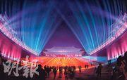 故宮於正月十五和十六舉辦「紫禁城上元之夜」活動,是故宮94年來首次在晚間免費對公眾開放,古建築群首次在晚間被大規模點亮。(中新社)