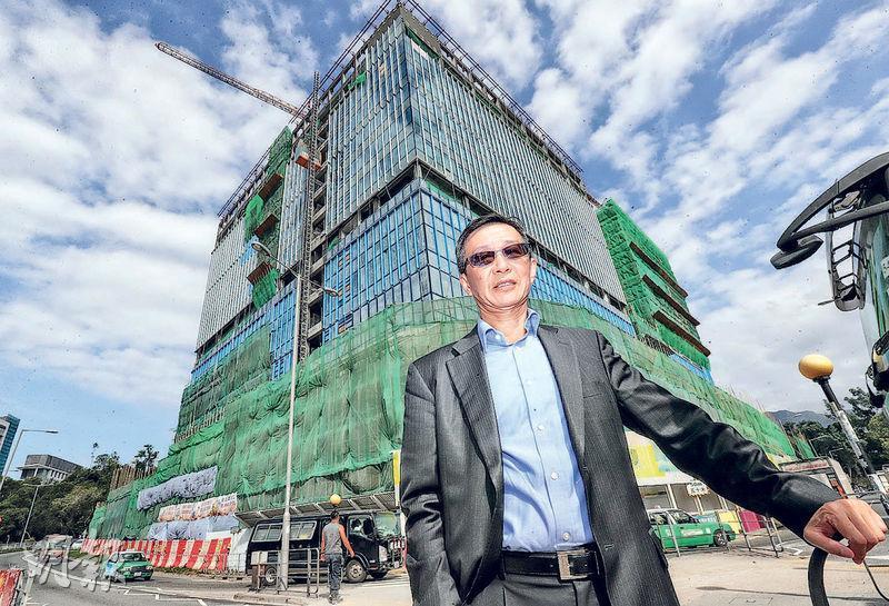 中大醫院行政總裁馮康(圖)接受本報專訪時表示,中大醫院將於2020年第二至第三季投入服務,料需招聘150名護士。(李紹昌攝)