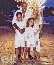 Emma Bunton跟Jade Jones育有兩子,兩人將結束20年愛情長跑,正式拉埋天窗。