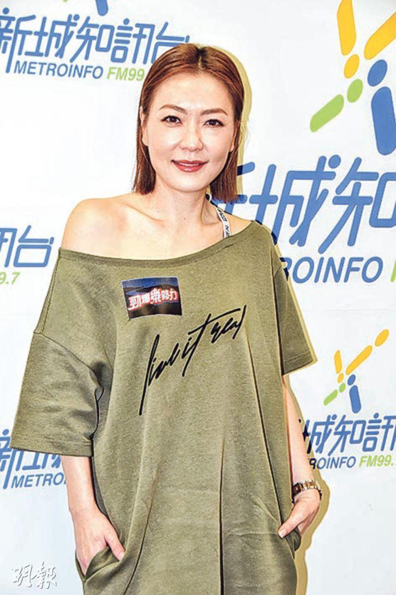 田蕊妮表示40歲出實體碟相當難得,不知將來還有否機會再出碟。(攝影:鍾偉茵)