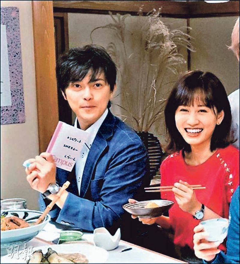 前田敦子(右)初為人母,勝地涼(左)透過社交媒體宣布兒子已出世的喜訊。