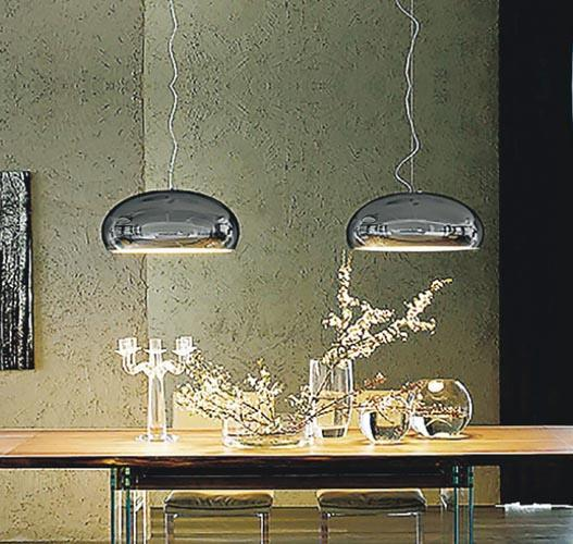Airluna淨化空氣不會產生二次污染。a-sa行政總裁梅傲雪稱,淨化器可10年不更換,更合成本效益。圖為Airluna空氣淨化燈飾。(網上圖片)