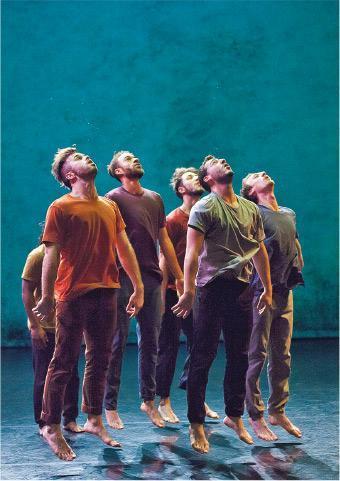 舞蹈《人民》(法國五月提供)
