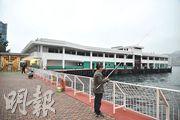 「內地來港旅行團地區協調小組」提議,日後於圖中的紅磡南渡輪碼頭設觀光船上客或落客區。(蘇智鑫攝)