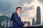 從內地來港執教10年的老師李曉迎認為,按《綱要》所示,香港將成為大灣區區內龍頭,認為留港任教可接觸最新、最先進的資源,故短期仍傾向留港發展。(李紹昌攝)