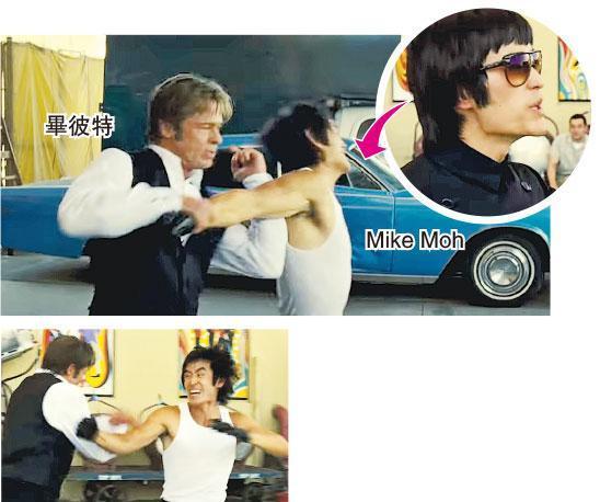 畢彼特扮演動作替身,有場戲講述他與飾演李小龍的美籍亞裔演員Mike Moh對打;後者是跆拳道黑帶,曾演出《異人族》等劇集。