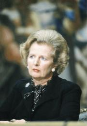 Margaret Thatcher (AFP Photo)
