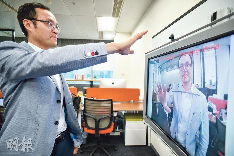 創科公司SagaDigits創辦人陳智銓相信,《粵港澳大灣區發展規劃綱要》出台後,香港將受惠於區內政策,以後在區內找尋合作伙伴拓展市場將更容易,只欠缺落地考察市場的主動性。(蘇智鑫攝)