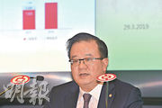 中銀香港副董事長兼總裁高迎欣指出,現時在東盟8個國家有據點,下一步會把緬甸的代表處變成經營實體。(楊柏賢攝)