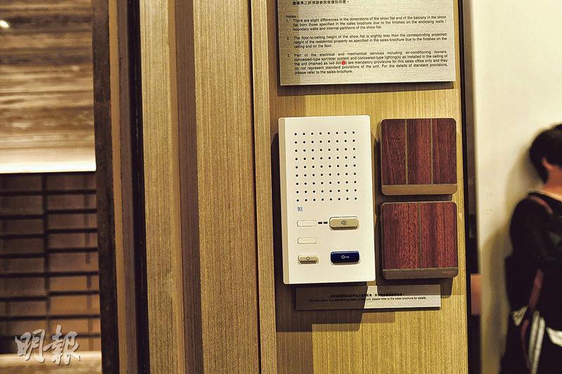 項目燈掣設計特別,住戶更可訂製個人化的膠殼,令單位更添品味。