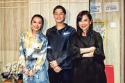 陳煒(左起)、余德丞及陳松伶希望《福爾摩師奶》開拍續集。(攝影/記者:林蘊兒)