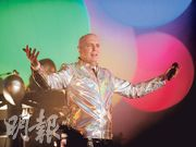 Pet Shop Boys第4度來港舉行演唱會,大讚香港「好正」。