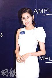 陳自瑤希望自己到50歲時,可以成為「美魔女」。(攝影:鍾偉茵)
