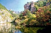 青島嶗山本是道教聖地、國家5A級旅遊景區,近日被揭發有官員涉嫌非法賣地,以致滿佈墳墓。(網上圖片)