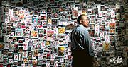 港大新聞及傳媒研究中心副教授傅景華趁今年六四事件30周年,計劃把其創辦的「微博視野」在近7年來蒐集到逾千條與六四事件有關的微博,全數公開,並邀請學者舉辦講座,討論內地的審查機制。(蘇智鑫攝)