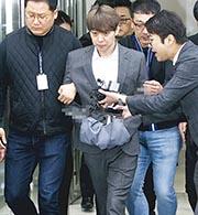 朴有天上周五被捕時仍否認涉毒,昨日他終於向警方承認吸毒。