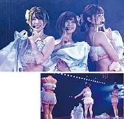 AKB48劇場入座率下滑,有傳最近安排成員走性感路線演出,刺激票房。