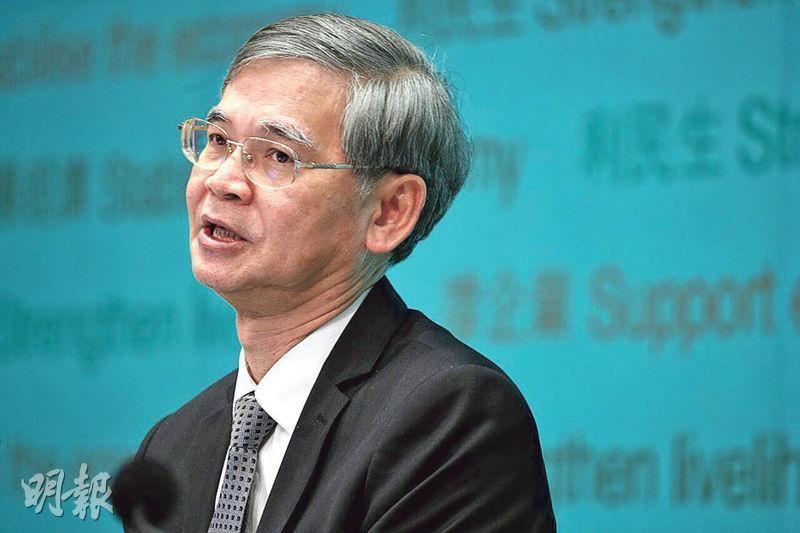 勞福局長羅致光(圖)發表網誌,宣布持續進修基金一系列改善措施已於4月起實施。