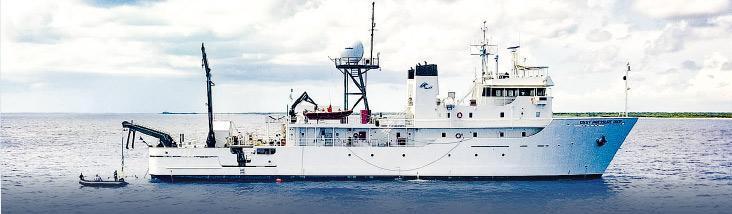 這次深潛行動的支援船
