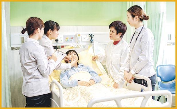 浸大持續教育學院開辦5年制護理學學士課程,校方增設4個護理實習室,設計參照私家醫院規格。(浸大持續教育學院提供)