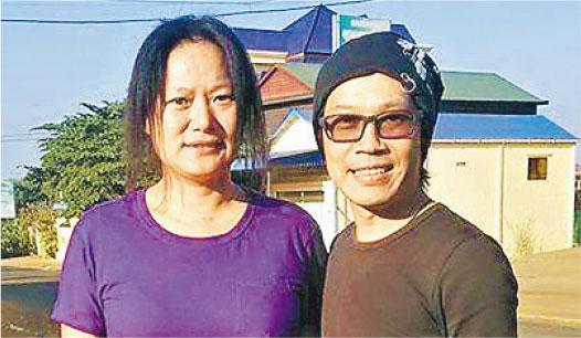 香港社運人士楊匡(右)及其太太、內地維權人士劉沙沙(左)2015年獲聯合國難民署批出難民身分,同年赴加拿大接受政治庇護。(網上圖片)