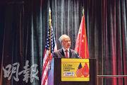 中國駐美大使崔天凱23日出席在美國肯塔基州舉行的中美省州長論壇稱,中美關係的未來要由兩國人民來定義。(新華社)