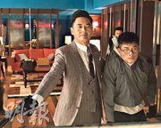 發哥(左)與城城在電影《無雙》中盡展演技,再次雙雙入圍爭影帝。(劇照)