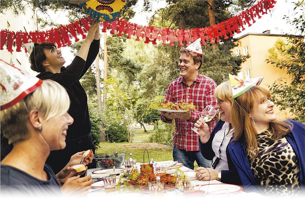 瑞典小龍蝦派對