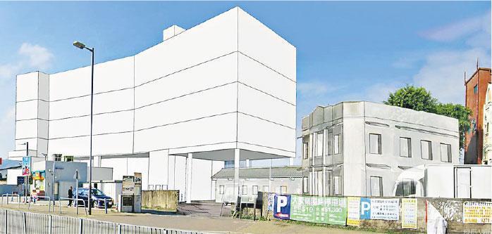 據城規會文件,申請人將提交初步設計概念圖,於「筱廬」旁加建5層高安老院舍,提供約170個牀位,認為做法是「雙贏」,既保存歷史建築,亦能提供院舍牀位。(城規會文件)