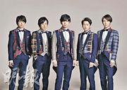 被喻為日本「國民男團」的嵐,落實擔任NHK電視台的東奧宣傳大使。