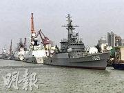 原中國海軍導彈護衛艦「銅陵」艦近日移交給斯里蘭卡海軍。圖為「銅陵」艦已改裝成斯里蘭卡海軍P625艦。(網上圖片)
