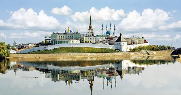 Kazan is a unique blend of Russian urbanity and culture.