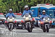 G20峰會將於本月28至29日在大阪舉行。圖為專為峰會提供安保的警衛團隊昨日訓練。(網上圖片)