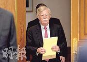 美國國安顧問博爾頓堅持朝鮮應完全放棄核計劃後,才可獲得援助。(路透社)