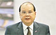 政務司長張建宗昨表示,整個特區政府亦對於最近的輕生事件感到很痛心。(李紹昌攝)