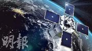 法國去年發射新一代軍事偵察衛星CSO-1,估計可服役12年。圖為該衛星模擬圖。(網上圖片)