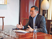 高盛投資策略組亞洲區聯席主管王勝祖(圖)表示,同樣風險事件對發達市場衝擊會較小,相信美股仍是首選。(廖毅然攝)