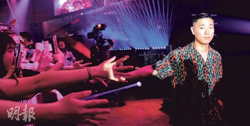 Gary前晚為「香港電競音樂節」演出。